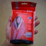 コスパ最強の防寒・保温対策 SOL ヒートシート エマージェンシーブランケット