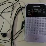 音質がよくて感度もそこそこな 東芝 AM/FMラジオ TY-KR3