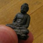 阿弥陀如来の極小仏像 十二支 御守本尊を置いて仏教を身近に感じる