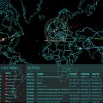 世界中のサイバー攻撃をリアルタイムで可視化するサイト Norse Attack Map