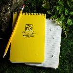 Rite in the Rain(ライトインザレイン) 水に濡れても破けず書ける全天候型の防水ノートブック