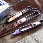 Christy Knife(クリスティーナイフ) ありそうでなかったスライド式ポケットナイフ