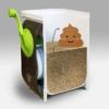 生ごみ処理機を改造すれば安価なバイオトイレ (コンポストトイレ) を自作できる