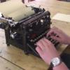 100年以上前のタイプライターを使った高速タイピングによる打鍵音 ASMR
