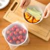 シリコンラップは耐熱性が高く何度も使えて食品用ラップフィルムよりゴミを減らせる