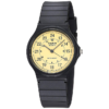CASIO MQ24-9B レトロでシンプルな24時間表示のアナログ腕時計