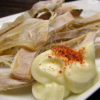 マヨネーズとスルメのベストコンビは非常食としても最高の組み合わせ