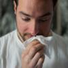 花粉症で鼻をかむティッシュペーパーの消費量を減らしたい