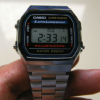 CASIO A168WA-1 実用品として最高レベルのコスパと機能と耐久性が備わった腕時計